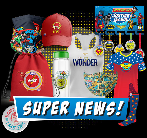 Time to get your Justice League Run Series gear!